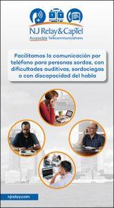 NJ Relay & CapTel </br>brochure </br>(Spanish)