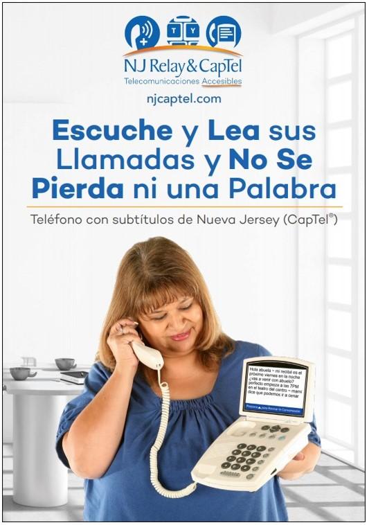 NJ CapTel </br>brochure </br>(Spanish)